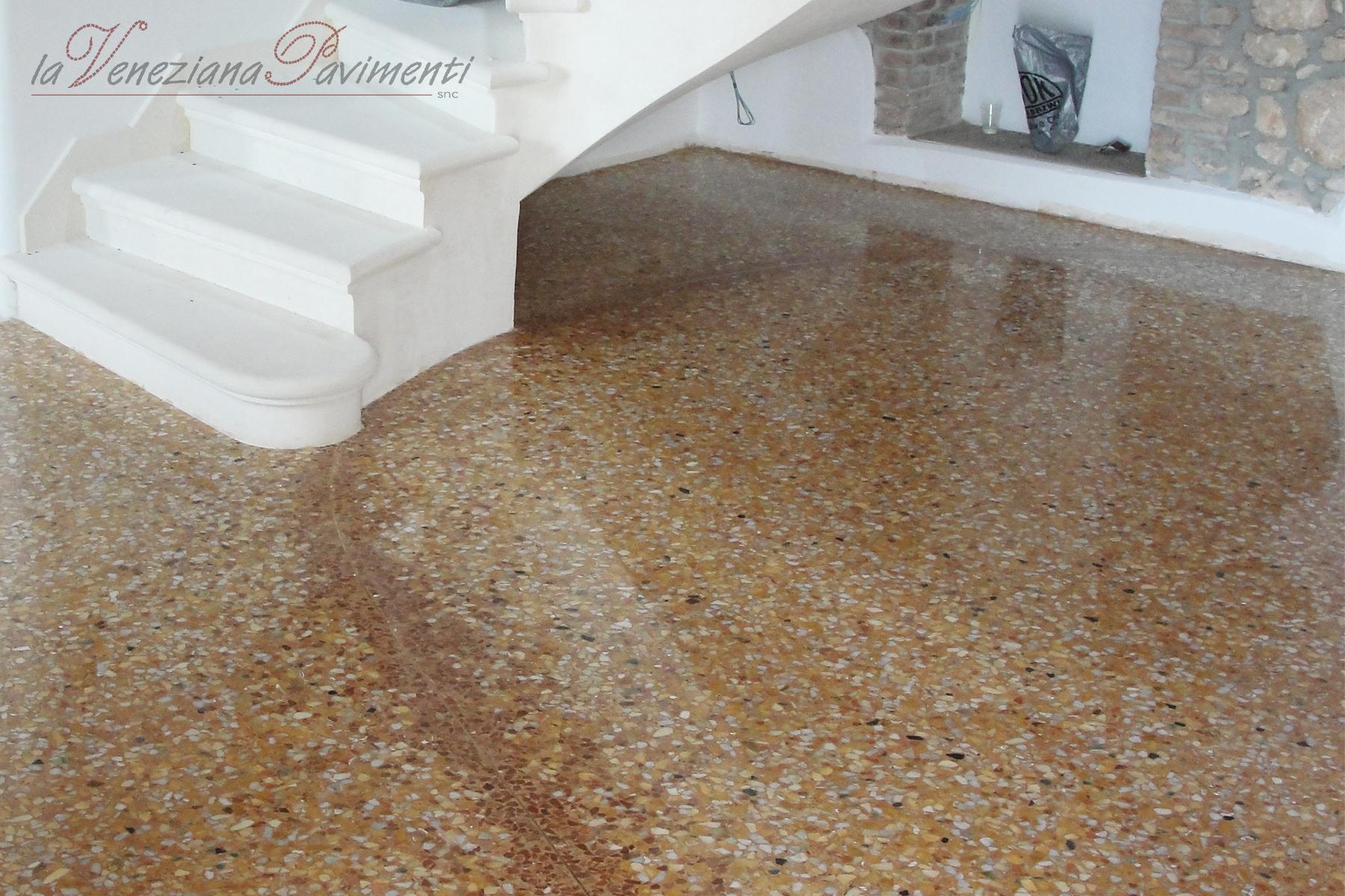 Pavimento In Terrazzo Alla Veneziana seminato alla veneziana, pavimenti alla veneziana, terrazzo